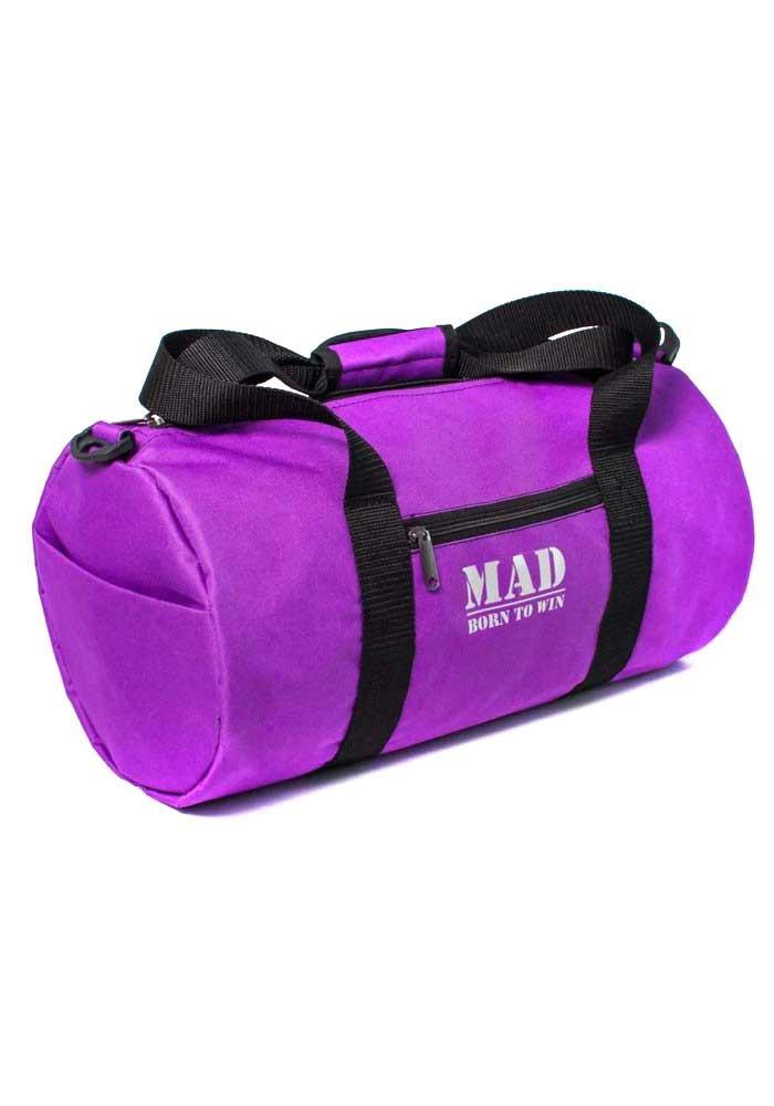 Спортивная женская сумка фиолетовая FitLadies TM MAD