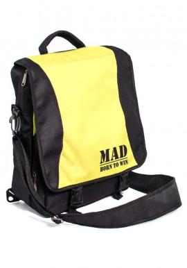 Фото Женская спортивная сумка-рюкзак PACE TM MAD черно-желтая