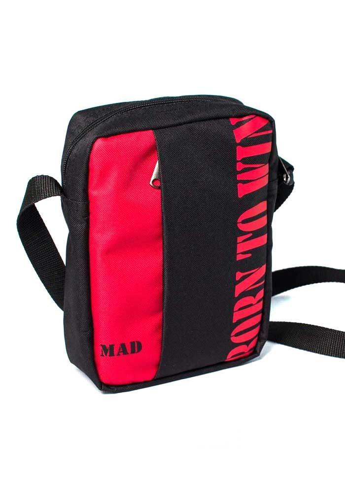 Мужская сумка через плечо Nomo TM MAD красная