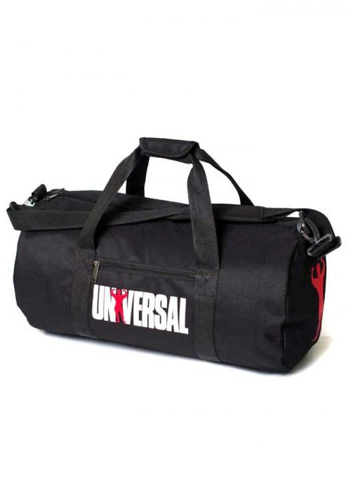 Спортивная мужская сумка черная UNIVERSAL