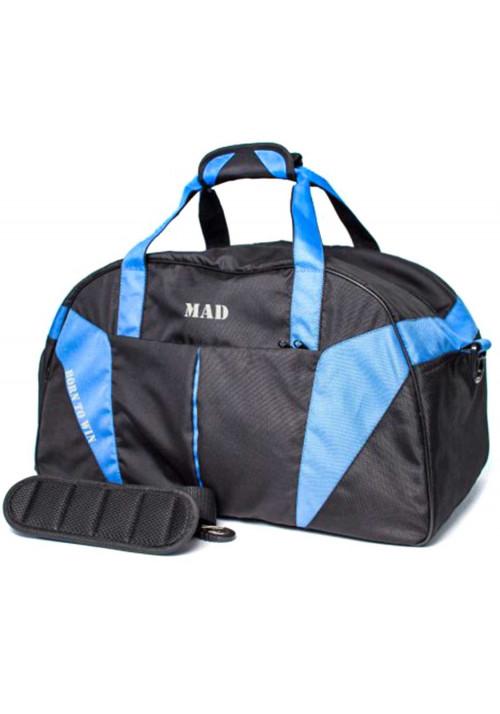 Черно-синяя дорожно-спортивная сумка MAD SCP50