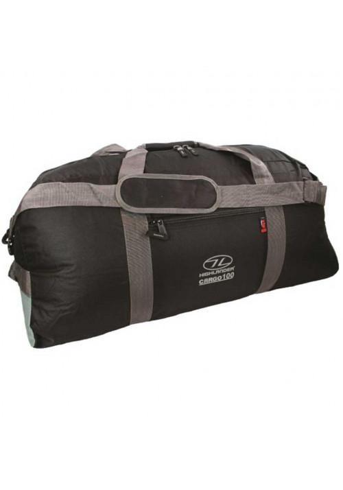 Прочная дорожная сумка Highlander Cargo 100 Black