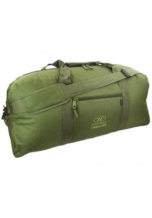 Оливковая дорожная сумка Highlander Cargo 100 Olive