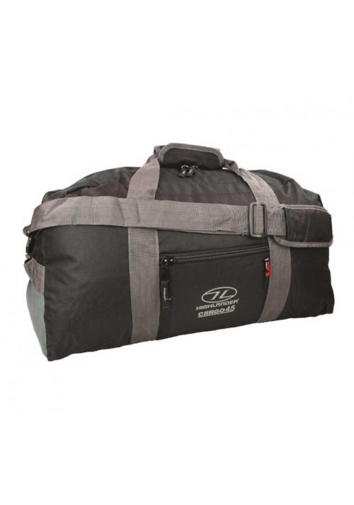 45 литровая дорожная сумка Highlander Cargo 45 Black