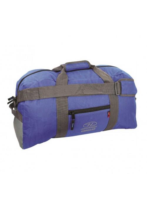 Синяя дорожная сумка на 45 литров Highlander Cargo 45 Blue