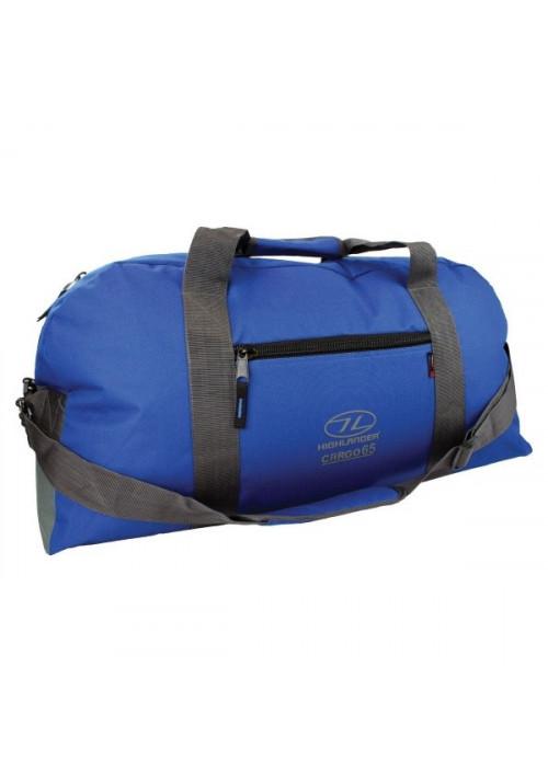Синяя сумка на 65 литров Highlander Cargo 65 Blue