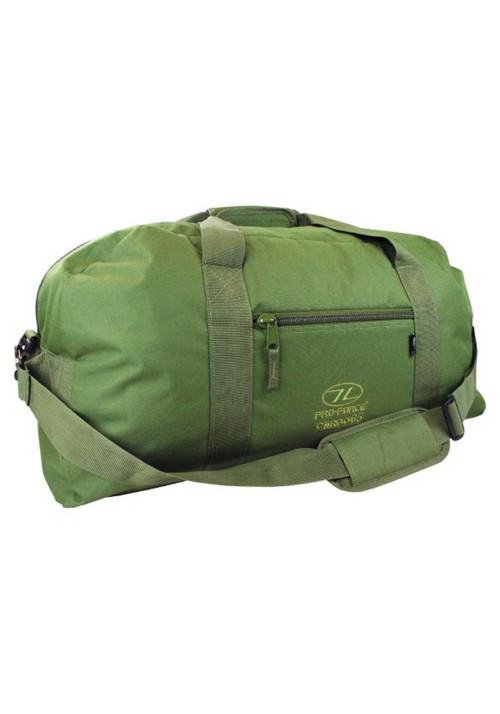 Оливковая сумка для дороги на 65 литров Highlander Cargo 65 Olive