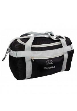 Фото Маленькая сумка для ручной клади Highlander Pack Away Holdall 20 Black