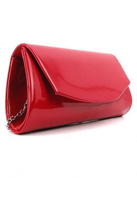 Фото Женская сумочка на цепочке красного цвета Rose Heart 103042
