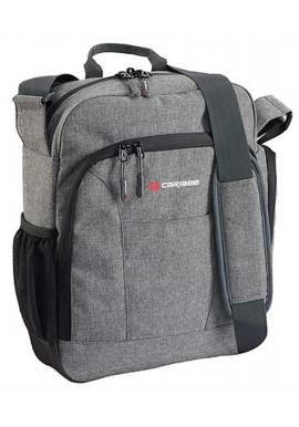 Тканевая сумка на плечо Caribee Departure Charcoal Distress