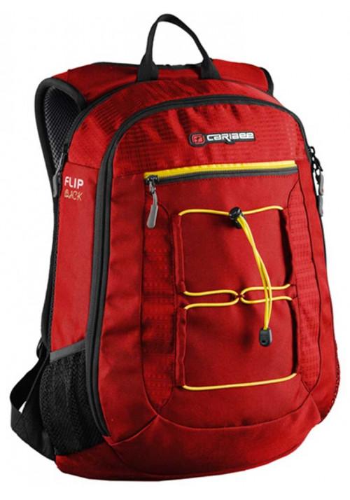 Тонкопрофильный рюкзак Caribee Flip Back 26 Red