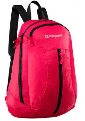 Фото Розовый супер-легкий рюкзак Caribee Fold Away 20 Red