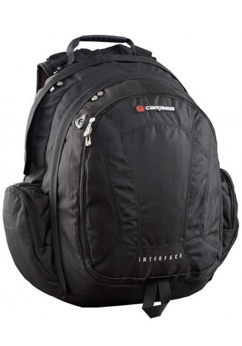 """Рюкзак с отделом для 15"""" ноутбука Caribee Interface 40 Black"""