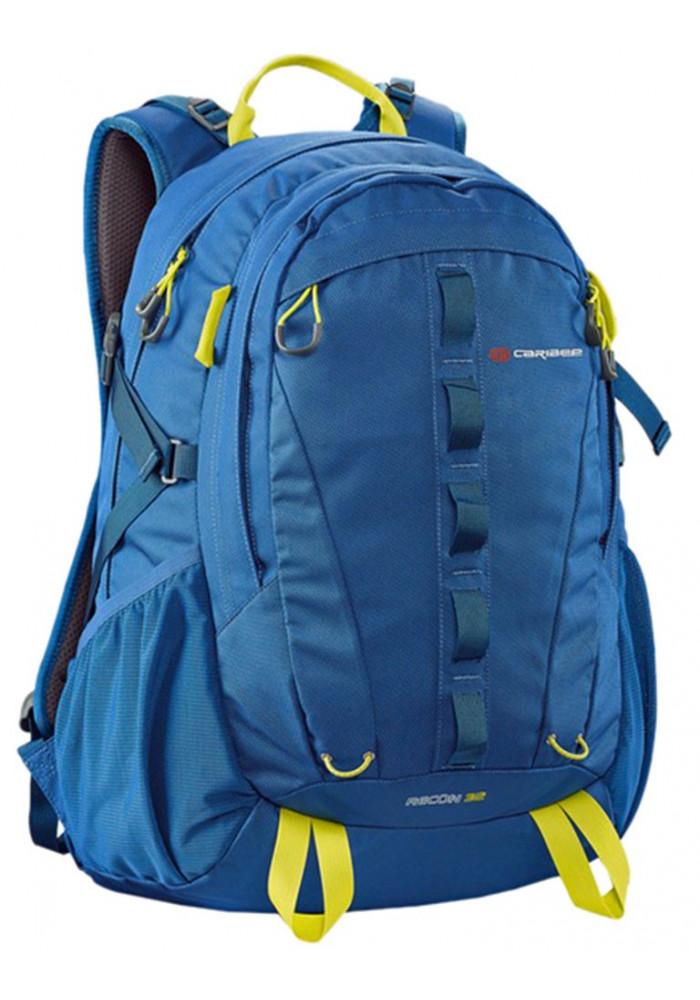 Фото Стильный синий рюкзак Caribee Recon 32 Sirius Blue Hyper Yellow