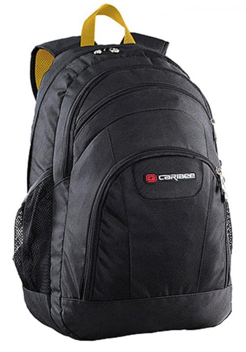 Рюкзак с 4-мя отделениями Caribee Rhine 40 Black