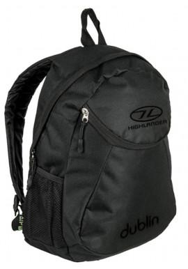 Фото Недорогой черный рюкзак Highlander Dublin 15 Black