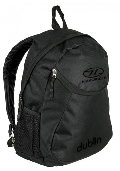 Недорогой черный рюкзак Highlander Dublin 15 Black