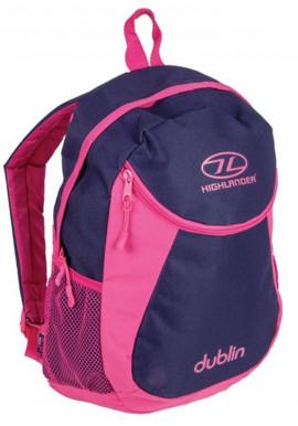 Фото Фиолетовый женский рюкзак Highlander Dublin 15 Purple Pink