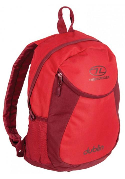 Синий рюкзак Highlander Dublin 15 Tango Red Rumba