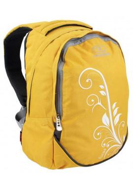 Фото Желтый рюкзак для девушки Highlander Furas 18 Yellow With Print