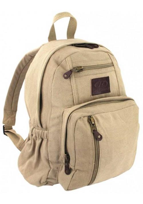 Тканевый летний рюкзак Highlander Salem Canvas 18 Beige