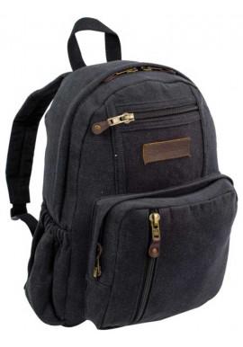 Фото Черный рюкзак из хлопка Highlander Salem Canvas 18 Black