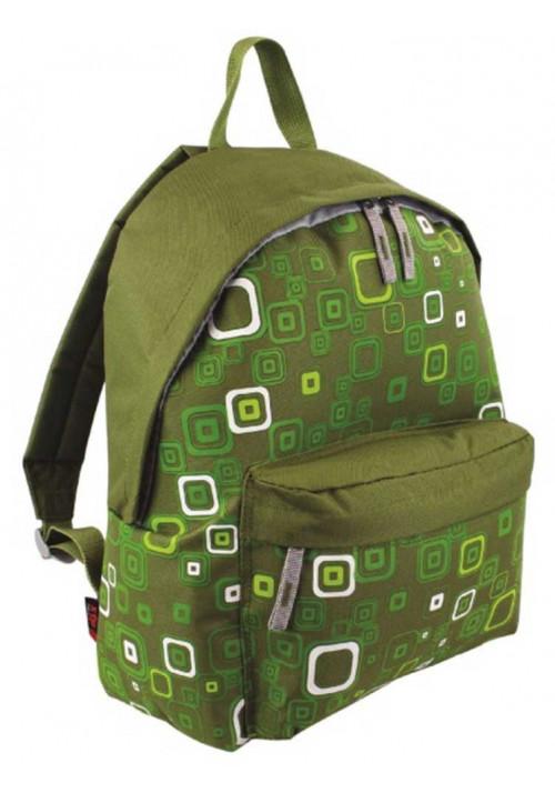 Зеленый рюкзак с принтом Highlander Zing 20 Kaleidos Square Print Green