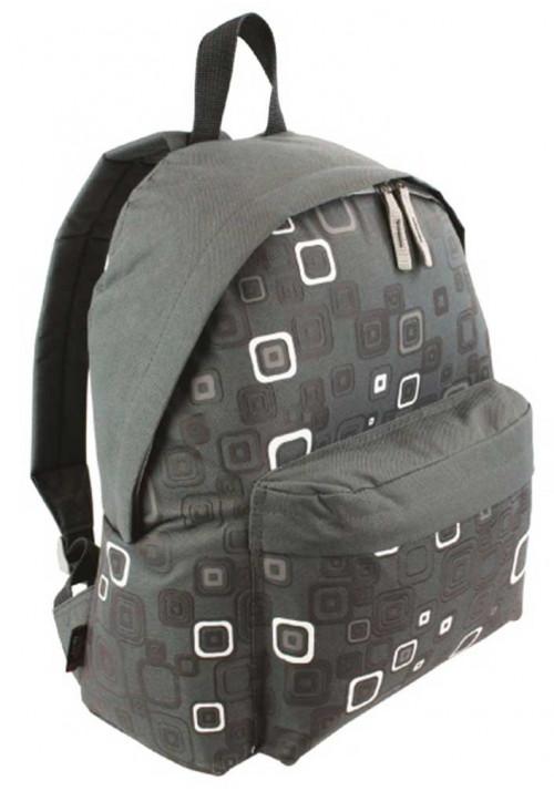 Серый рюкзак с принтом Highlander Zing 20 Kaleidos Square Print Grey