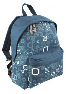 Фото Голубой рюкзак с принтом Highlander Zing 20 Kaleidos Square Print Teal