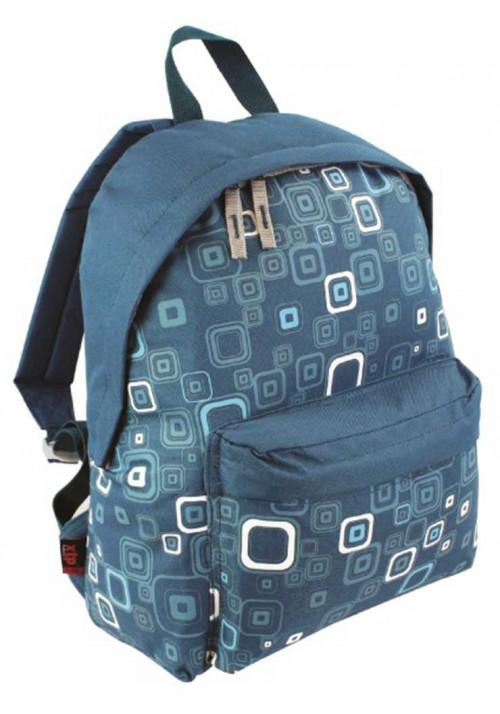 Голубой рюкзак с принтом Highlander Zing 20 Kaleidos Square Print Teal