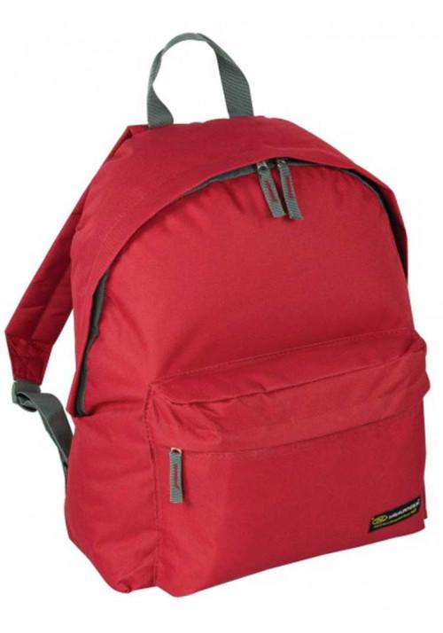 Легкий красный рюкзак Highlander Zing 20 Red