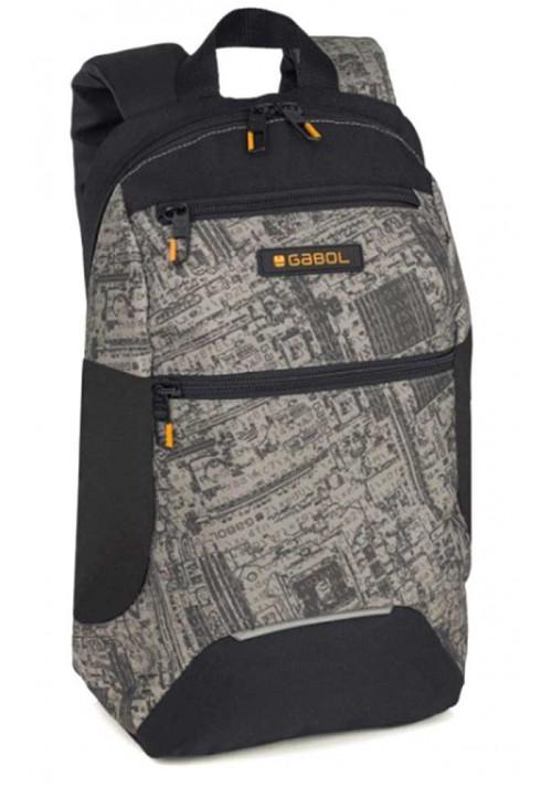 Стильный городской рюкзак Gabol Code 15 Black 221154