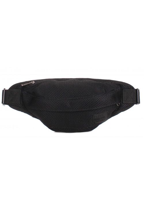 Перфорированная поясная сумка Poolparty Bumbag Mesh Black