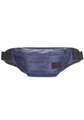 Фото Синяя поясная сумка Poolparty Bumbag Oxford Darkblue