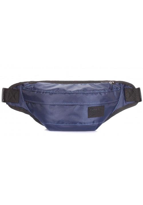 Синяя поясная сумка Poolparty Bumbag Oxford Darkblue