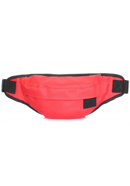 Красная поясная сумка Poolparty Bumbag Oxford Red