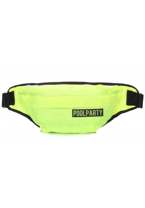 Салатовая сумка на пояс Poolparty Bumbag Neon