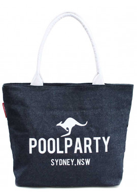 Фото Джинсовая женская сумка Poolparty Pool-7 Jeans