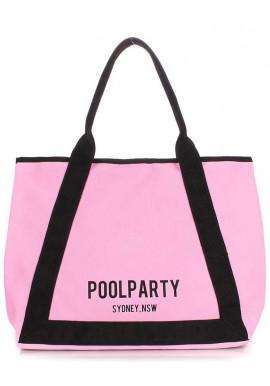 Фото Розовая женская сумка для летнего сезона Poolparty Laguna Rose