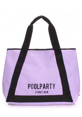 Фото Сиреневая женская сумка на лето Poolparty Laguna Lilac