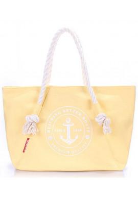 Фото Желтая сумка для пляжного сезона Poolparty Pool Breeze Yellow
