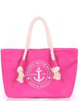 Фото Малиновая летняя сумка Poolparty Pool Breeze Pink