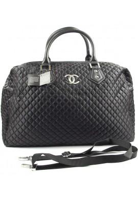 Фото Черная текстильная дорожная женская сумка CH 5340-1