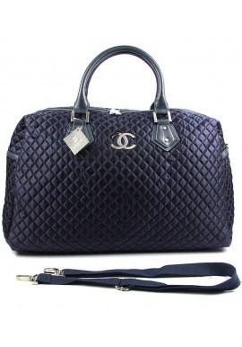 Фото Синяя стеганая дорожная женская сумка CH 5340-1