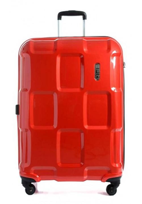 Красный чемодан на колесах Epic Crate EX L Berry Red