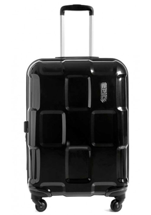 Средний чемодан на колесиках Epic Crate EX M Black Metal