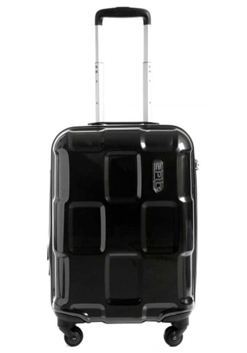 Небольшой чемодан на колесиках Epic Crate EX S Black Metal