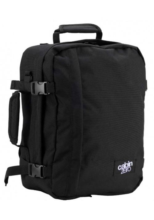 Черная сумка-рюкзак CabinZero Classic 28L Absolute Black