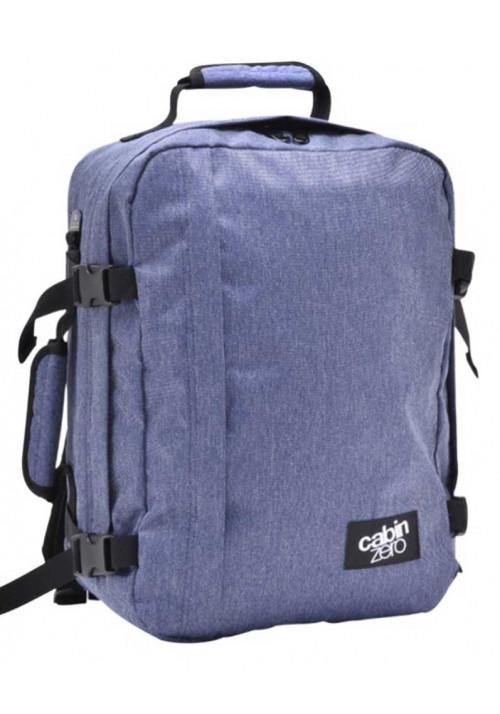 Голубая сумка-рюкзак CabinZero Classic 28L Blue Jean