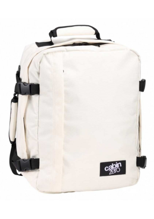 Белая сумка-рюкзак CabinZero Classic 28L Cabin White